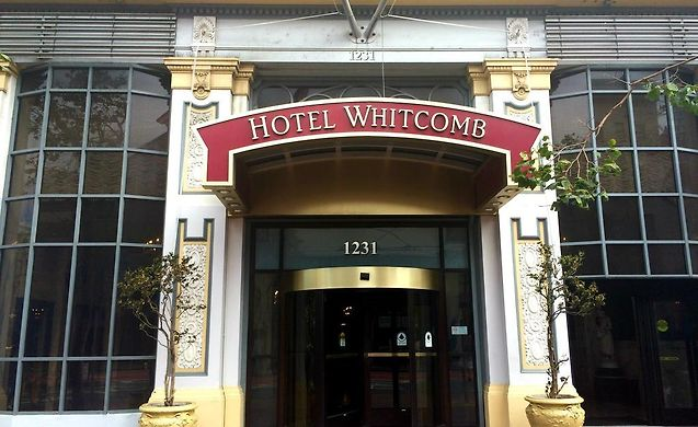 whitcomb hotel san francisco